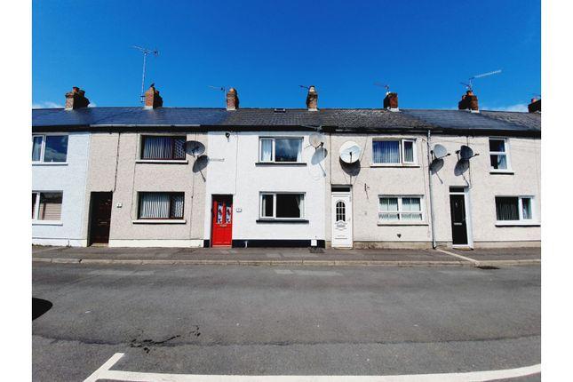 Thumbnail Terraced house for sale in Loughview Terrace, Carrickfergus