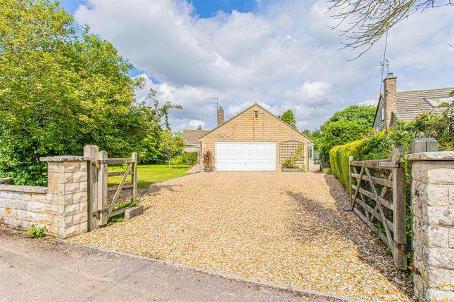 Thumbnail Detached bungalow for sale in Butts Close, Biddestone, Chippenham