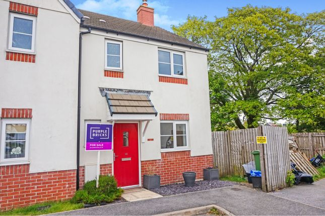 Thumbnail Semi-detached house for sale in Cookworthy Close, St. Austell