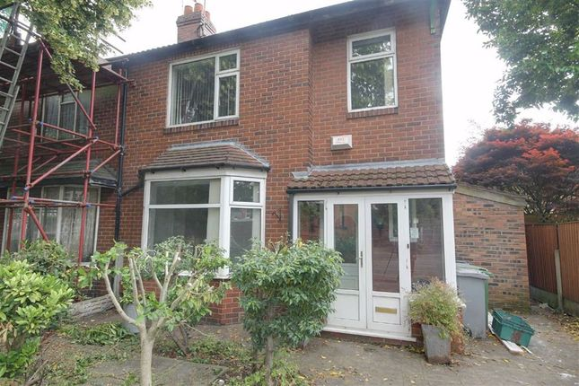 Thumbnail Semi-detached house to rent in Lime Road, Stretford, Manchester