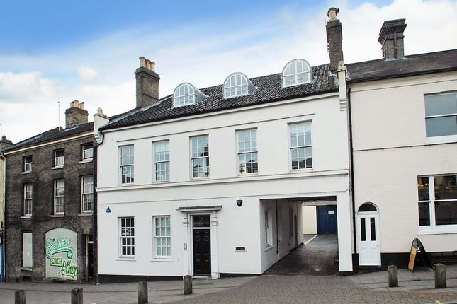 Thumbnail Terraced house for sale in Cattle Market Street, Norwich