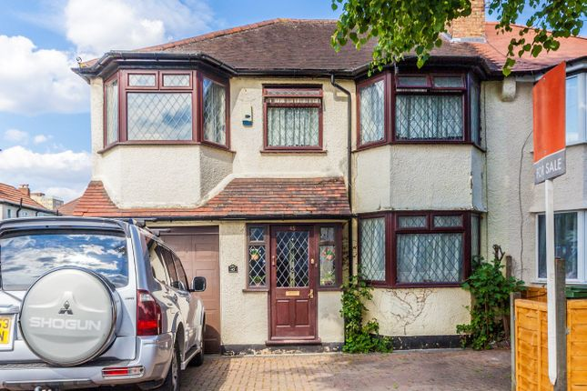 Thumbnail Semi-detached house for sale in Oak Grove Road, London