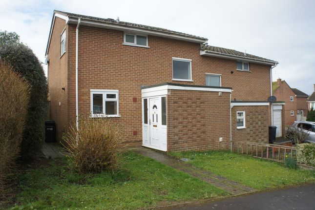 Thumbnail Semi-detached house to rent in Cowen Close, Crewkerne