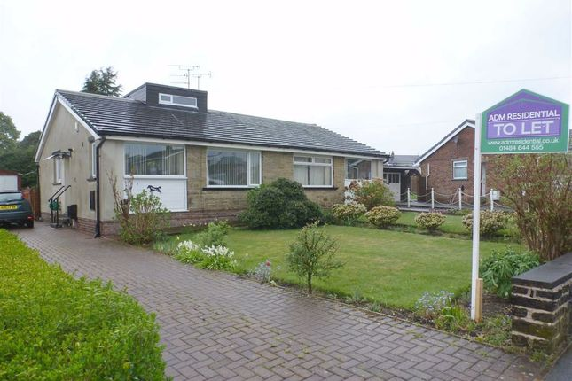 Thumbnail Semi-detached bungalow to rent in Wentworth Drive, Bradshaw, Halifax