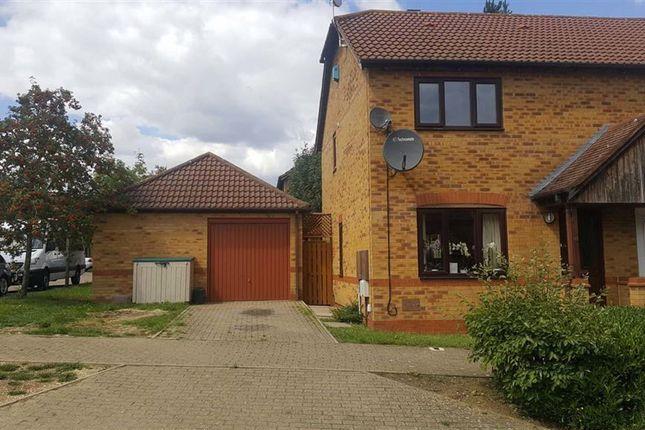 3 bed semi-detached house for sale in Calverleigh Crescent, Furzton, Milton Keynes MK4
