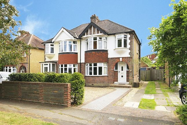 Thumbnail Semi-detached house for sale in Ember Farm Way, East Molesey