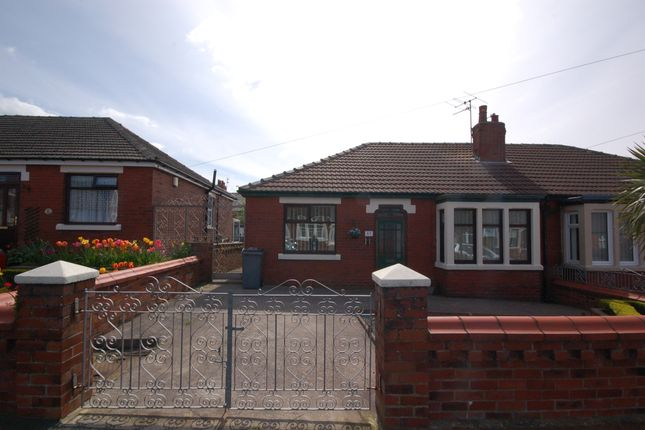 Thumbnail Semi-detached bungalow for sale in Greenwood Avenue, Blackpool