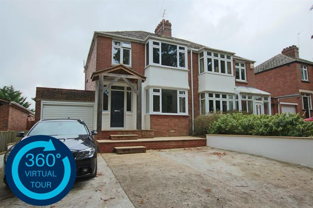 Thumbnail 3 bed semi-detached house for sale in Mile Lane, Beacon Heath, Exeter