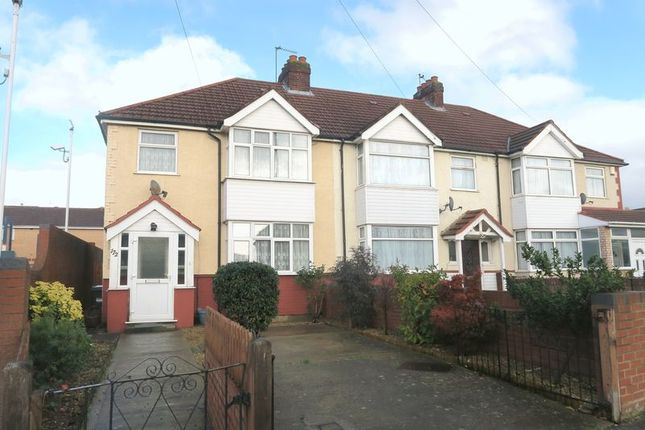 Thumbnail End terrace house for sale in Bedfont Lane, Feltham