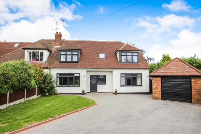Thumbnail Semi-detached house for sale in Warren Close, Rayleigh, Essex