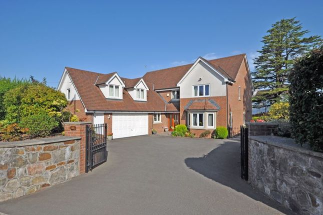 Thumbnail Detached house for sale in Outstanding Property, Glasllwch Crescent, Newport