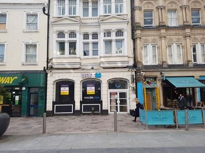 Retail premises to let in 92 St Mary Street, Cardiff
