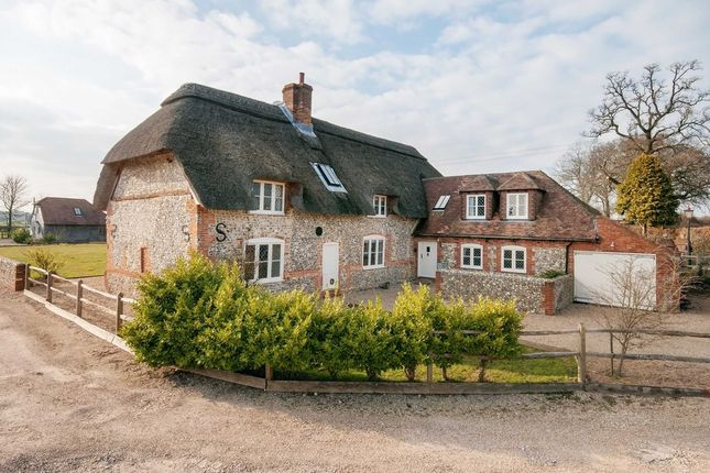Thumbnail Detached house for sale in White Horse Lane, Denmead, Waterlooville