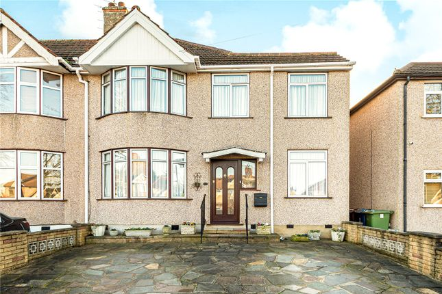 Semi-detached house for sale in Somervell Road, Harrow, Middlesex
