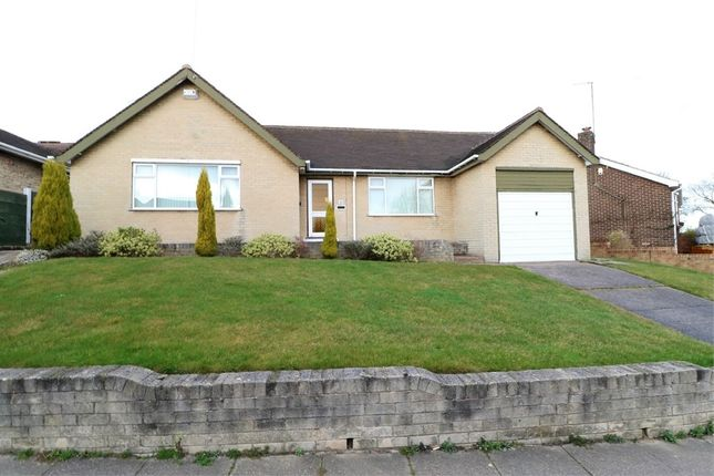 Thumbnail Detached bungalow for sale in Woodlands Crescent, Swinton, Mexborough, South Yorkshire