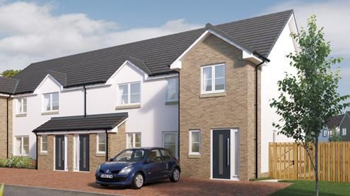 Thumbnail End terrace house for sale in Borland Walk, Glassford, Strathaven
