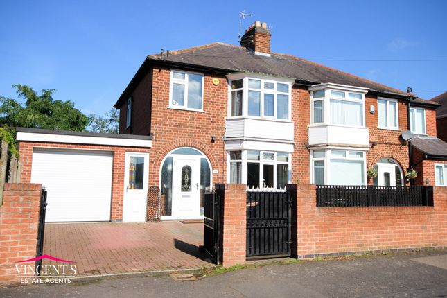 3 bed semi-detached house for sale in Hillrise Avenue, Braunstone Town, Leicester