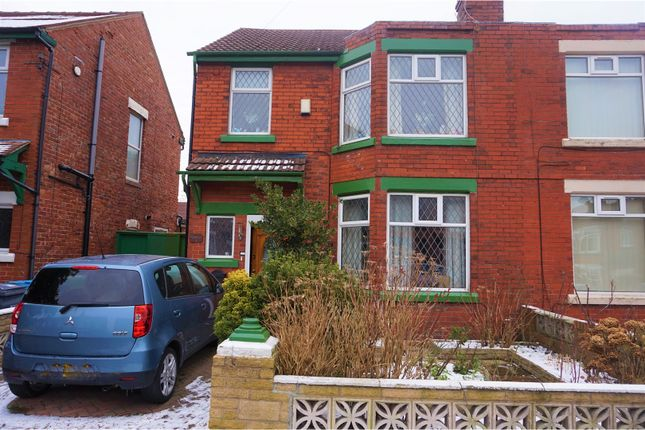 Thumbnail Semi-detached house for sale in Barnsfold Avenue, Manchester