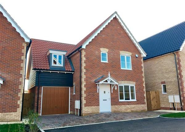 Thumbnail Detached house for sale in Plot F, Angel Place Bramford, Ipswich