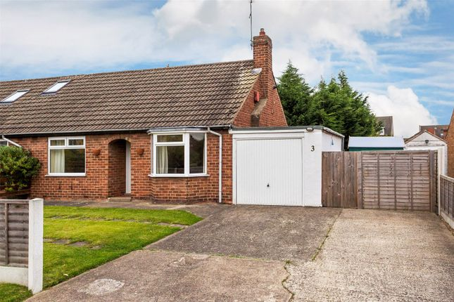 Thumbnail Semi-detached bungalow for sale in Manor Park Road, York