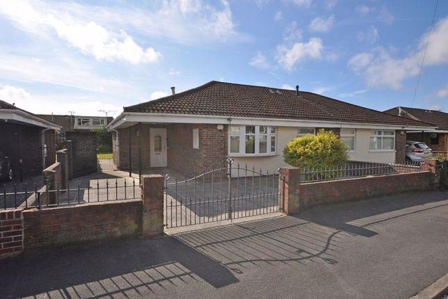 Thumbnail Semi-detached bungalow for sale in Extended Bungalow, Pontfaen Road, Newport