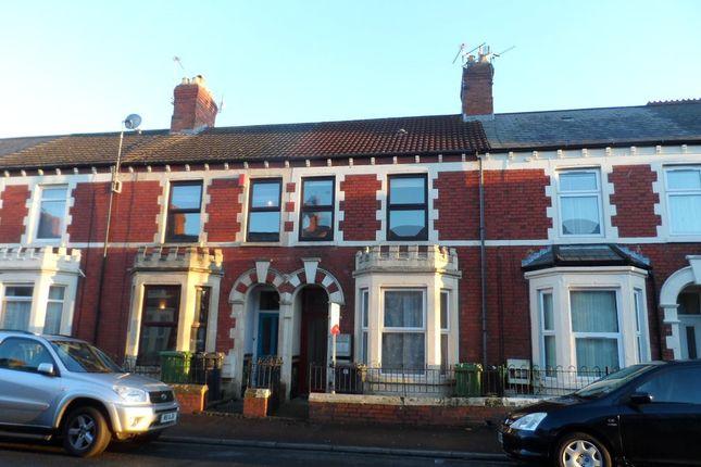 Coedcae Street, Top Floor Flat, Grangetown, Cardiff CF11