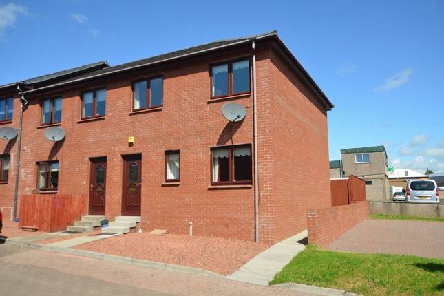 Thumbnail End terrace house for sale in 22 Fullarton Court, Kilmarnock