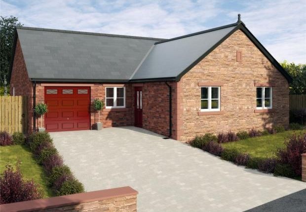 Thumbnail Detached bungalow for sale in Plot A, Thornedge Gardens, Cumwhinton, Carlisle