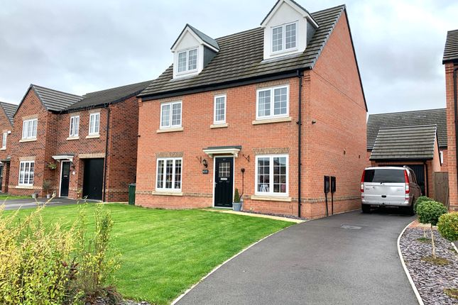 Thumbnail Detached house for sale in Insall Way, Auckley, Doncaster