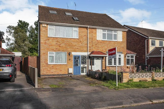Thumbnail Semi-detached house for sale in Birchwood Road, Binley Woods, Coventry