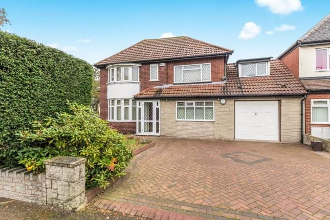Thumbnail Detached house for sale in Peak House Road, Great Barr, Birmingham, West Midlands