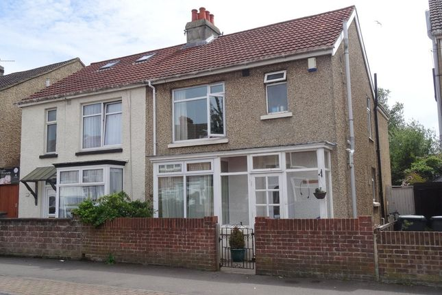 Thumbnail Semi-detached house to rent in Carnarvon Road, Gosport