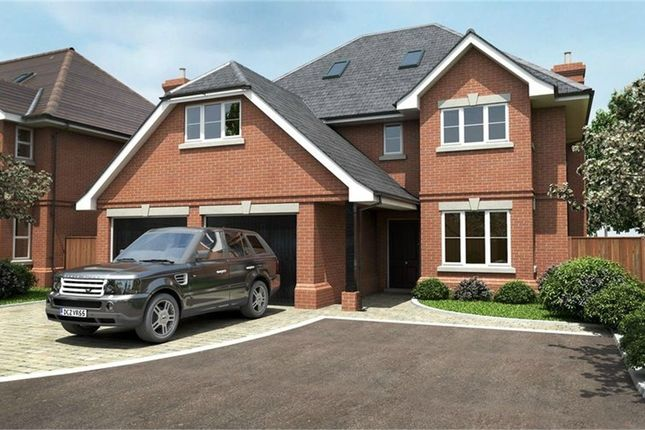Thumbnail Detached house for sale in Finchampstead Road, Wokingham, Berkshire