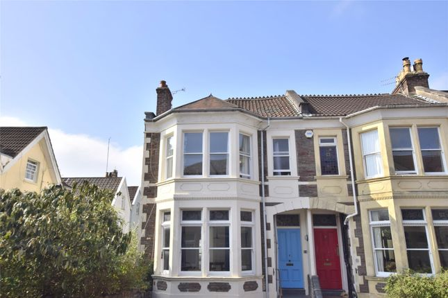 Thumbnail End terrace house for sale in Downfield Road, Bristol