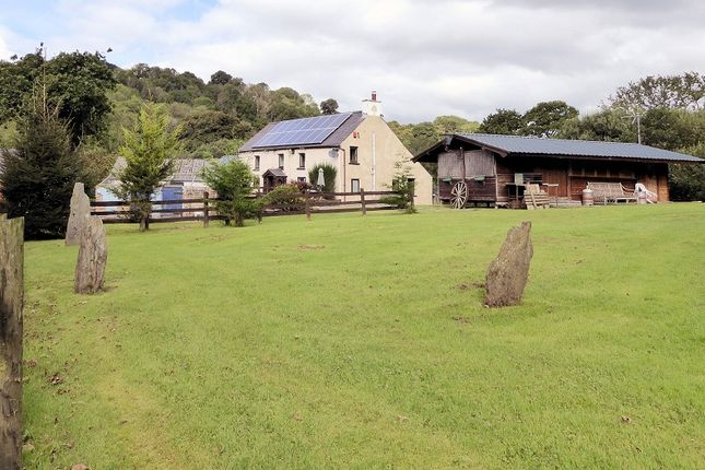 Land for sale in Wern Newydd Farm, Penrhiwllan, Llandysul, Ceredigion.