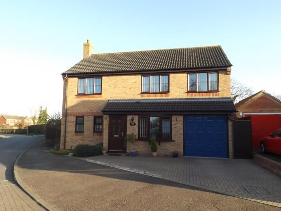 Thumbnail Detached house for sale in Ash Tree Close, Attleborough