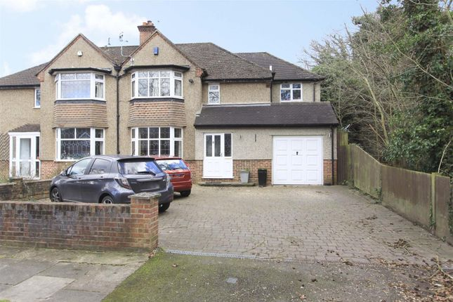Thumbnail Semi-detached house for sale in The Grove, Ickenham