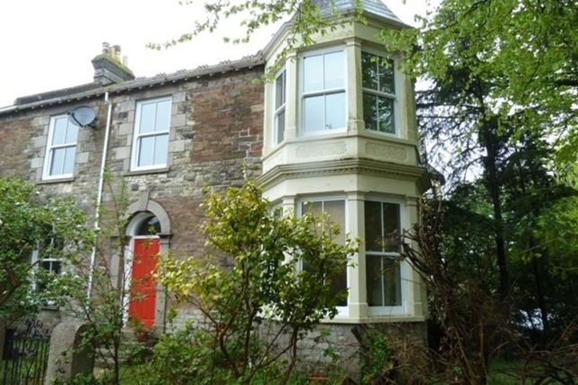 Thumbnail Semi-detached house to rent in Claremont Road, Redruth
