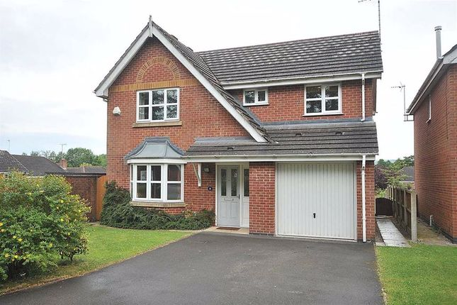 Thumbnail Detached house to rent in Whitfield Drive, Macclesfield