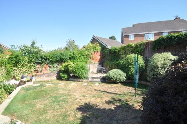 Garden of Ramsdell Road, Fleet GU51