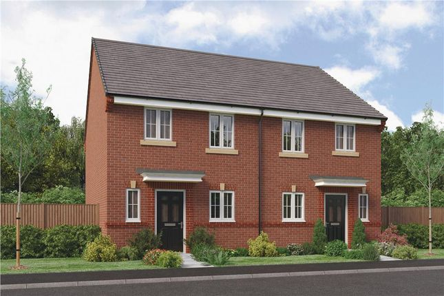 "Thumbnail Semi-detached house for sale in ""The Hawthorne"" at Parkside, Hebburn"
