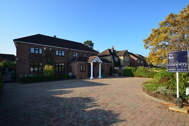 Thumbnail Detached house to rent in The Greenway, Ickenham