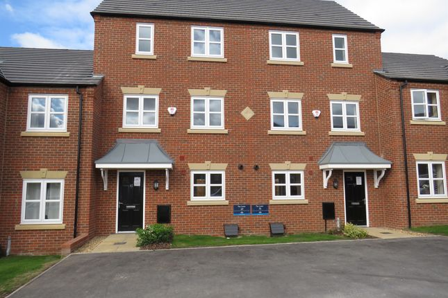 Thumbnail Terraced house for sale in Croft Close, Two Gates, Tamworth