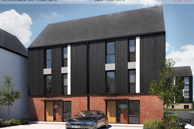 Thumbnail Semi-detached house for sale in Arden Quarter, Brunel Way, Alcester Road, Stratford Upon Avon, West Midlands