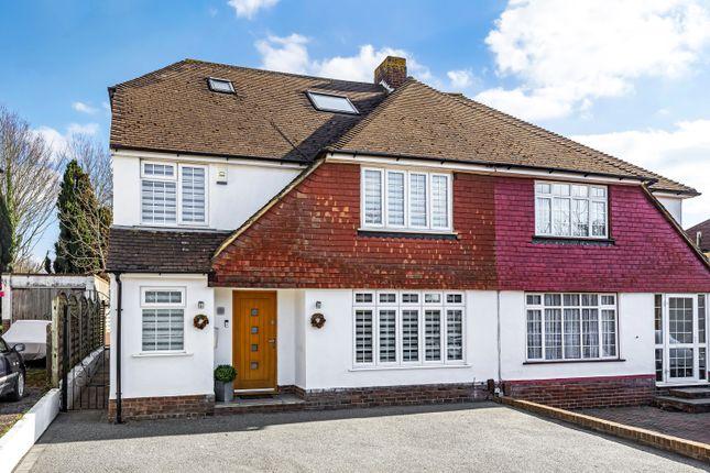 Thumbnail Semi-detached house for sale in Wilmington Avenue, Orpington