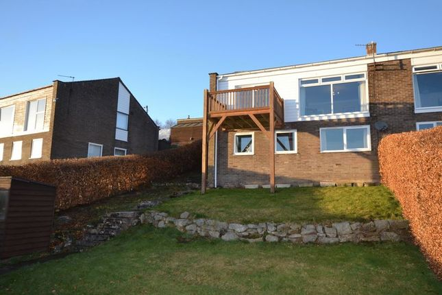 3 bed semi-detached house for sale in Simonside View, Rothbury, Morpeth