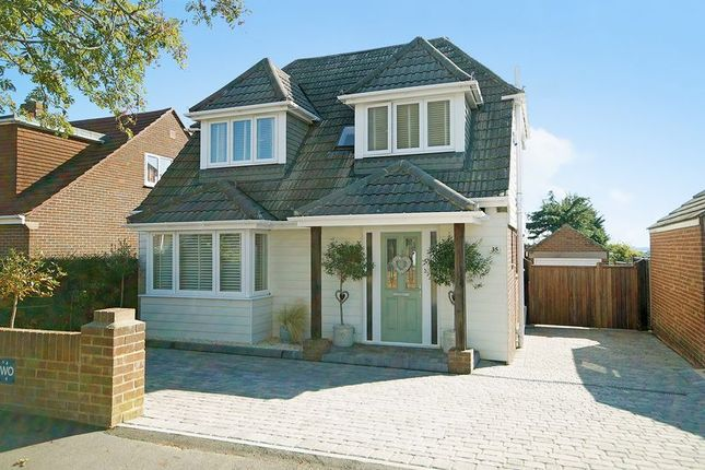Thumbnail Detached house for sale in Hill View Road, Portchester, Fareham