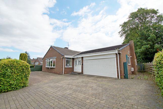 Thumbnail Detached bungalow for sale in Chantry Place, West Rainton, Houghton Le Spring