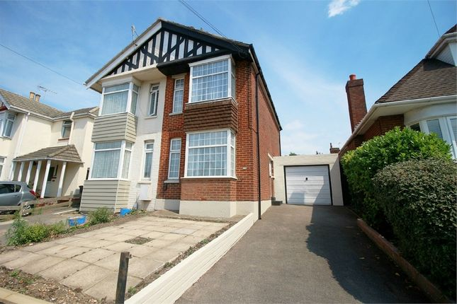 Thumbnail Semi-detached house for sale in Wimborne Road, Poole, Dorset