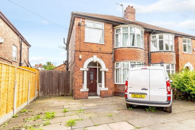 Thumbnail Semi-detached house for sale in Barlow Moor Road, Manchester, Greater Manchester
